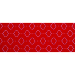 ARTTEC DOLCE DECOR MADALYON red - Obklad 20x50 cm