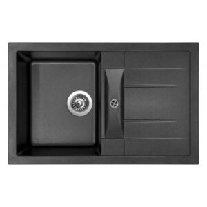 Sinks CRYSTAL 780 Metalblack