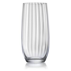 Bohemia Crystal Crystalex sklenice long Waterfall 6 x 350 ml