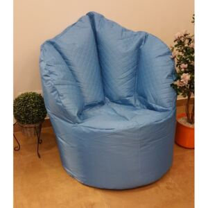 Sedací pytel Big Queen chair OMNIBAG 110x95x135 modrý