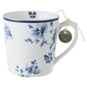 Porcelánový hrnek China Rose blue 350ml, Laura Ashley, UK