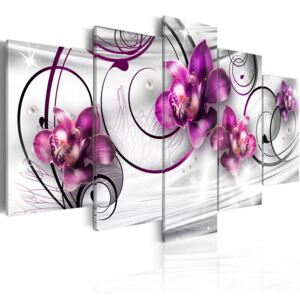Obraz - Orchids and Pearls 100x50