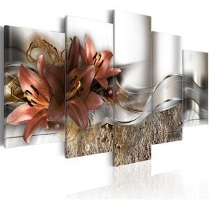 Obraz - Lily Marsala and Abstraction 100x50
