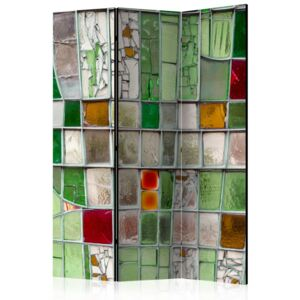 Paraván - Emerald Stained Glass 135x172