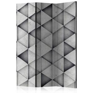 Paraván - Grey Triangles 135x172