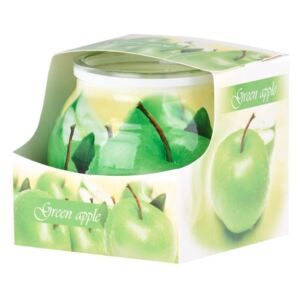 Sklo Dekor 80 x 72 mm Green Apple vonná svíčka