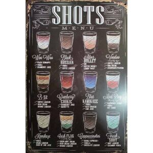 Cedule Shots Menu