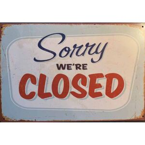 Cedule Sorry We Are Closed