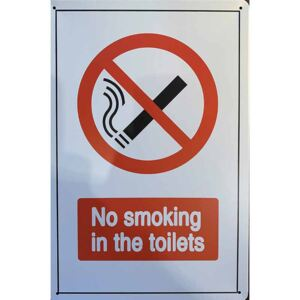 Cedule No Smoking in the Toilets