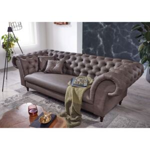 Askont R Pohovka 3M brown grey Chesterfield Preston