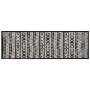 Zala Living - Hanse Home koberce Běhoun Authenti Cook & Clean 103368 creme black - 60x180 cm