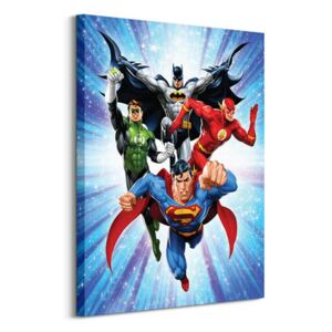 Obraz na plátně DC Comics Justice League (Supreme Team) 60x80cm WDC99443