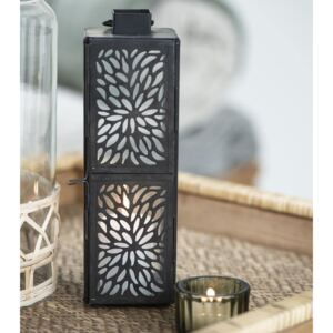 Lucerna Black Pattern Tall
