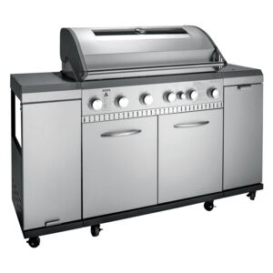 Plynový gril Inox 6.1 (24 kW)