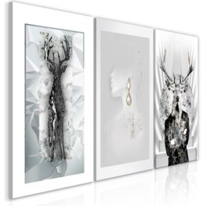 Obraz - Beauty of Nature (3 Parts) 120x60