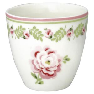 Mini latte cup Lily Petit White