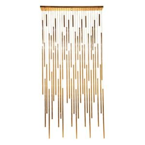 KARE DESIGN Lustr Living Vegas Deluxe Brass LED, Vemzu