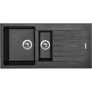 Sinks PERFECTO 1000.1 metalblack