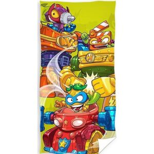 Carbotex osuška Super Zings Robots 70x140 cm