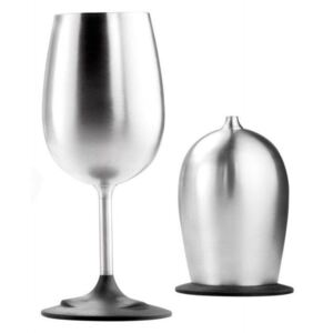 GSI Outdoors Sklenička GSI Glacier Stainless Nesting Wine Glass