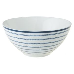 Porcelánová miska Candy Stripe blue 13cm, Laura Ashley, UK