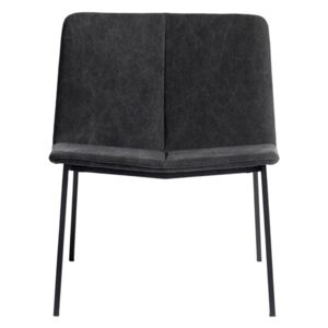 Lounge Židle Muubs Chamfer Anthracite