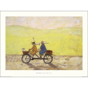 Obraz, Reprodukce - Sam Toft - Grand Day Out, (50 x 40 cm)