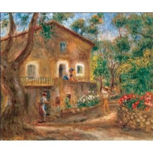 Obraz, Reprodukce - The Collette House in Cagnes, 1912, Pierre-Auguste Renoir, (80 x 60 cm)