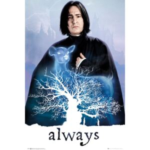 Plakát, Obraz - Harry Potter - Snape Always, (61 x 91,5 cm)