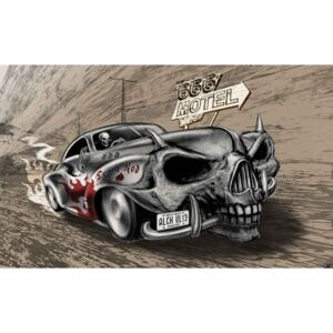 Fototapeta, Tapeta Alchemy auto, Hot Rod Car, (104 x 70.5 cm)