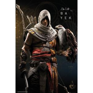 Plakát, Obraz - Assassins Creed Origins - Bayek, (61 x 91,5 cm)