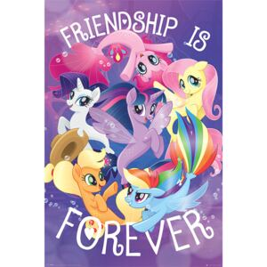 Plakát, Obraz - My Little Pony Movie - Friendship is Forever, (61 x 91,5 cm)