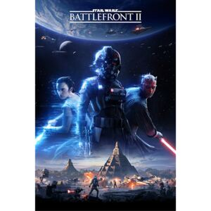 Plakát, Obraz - Star Wars Battlefront 2 - Game Cover, (61 x 91,5 cm)