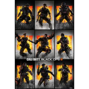 Plakát, Obraz - Call Of Duty – Black Ops 4 - Characters, (61 x 91,5 cm)