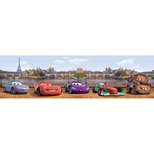 AG Design WBD8081 Samolepicí bordura, šíře 10 cm Cars in London, 10 x 500 cm