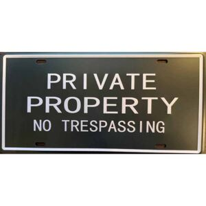 Cedule Private Property