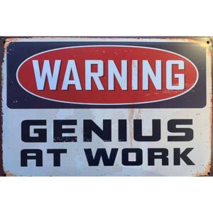 Cedule Warning - Genius At Work