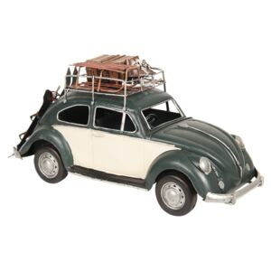 Retro kovový model VW Beetle - 36*12*16 cm