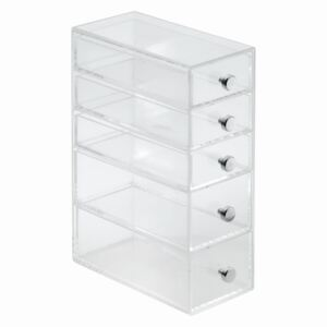 Organizér iDesign 5 Drawer Tower, 9 x 18 cm