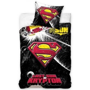 Carbotex • Povlečení SUPERMAN - Last son of Krypton - 100% bavlna - 70x90 cm + 140x200 cm