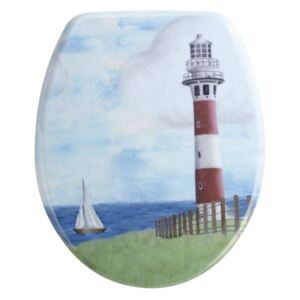 WC sedátko Wenko Lighthouse, 44,5 x 36,5 cm