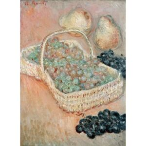 Obraz, Reprodukce - The Basket of Grapes, 1884, Claude Monet