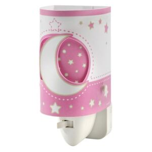 Dalber DALBER D-63235LS - LED Lampička do zásuvky PINK MOON LED/0,5W 28399