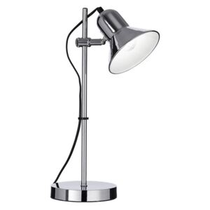 Ideal Lux Ideal Lux - Stolní lampa 1xE27/60W/230V lesklý chrom ID109107