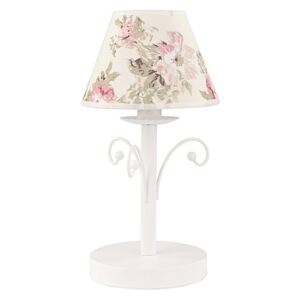 TK Lighting Stolní lampa ROSA WHITE 1xE14/40W/230V TK0372