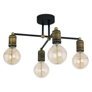 TK Lighting Lustr na tyči RETRO 4xE27/60W/230V TK1904