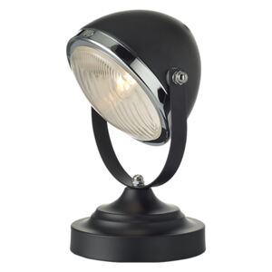 ACA DECOR Stolní retro lampa Headlight Black
