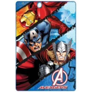 SUN CITY Fleecová / fleece deka Super Heroes Avengers Split 100x150