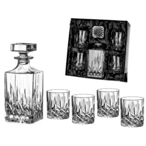 Diamante whisky set se saténem Dorchester 1+4