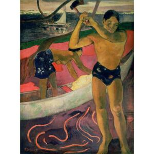 Obraz, Reprodukce - The Man with an Axe, 1891, Paul Gauguin